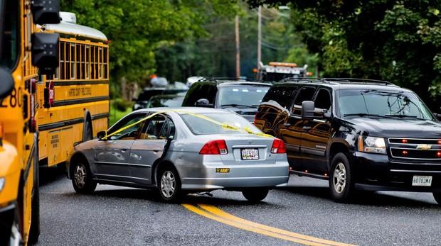 Al menos tres muertos en un tiroteo en una zona de negocios en Maryland