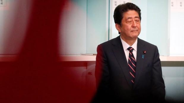 Shinzo Abe, reelegido como presidente del partido gobernante de Japón