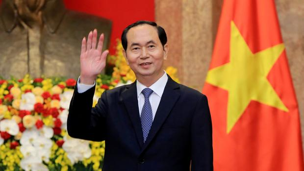 El presidente fallecido de Vietnam, Tran Dai Quang