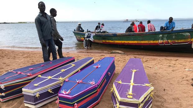 Detenidos los dueños del barco hundido en Tanzania en el que murieron 224 personas