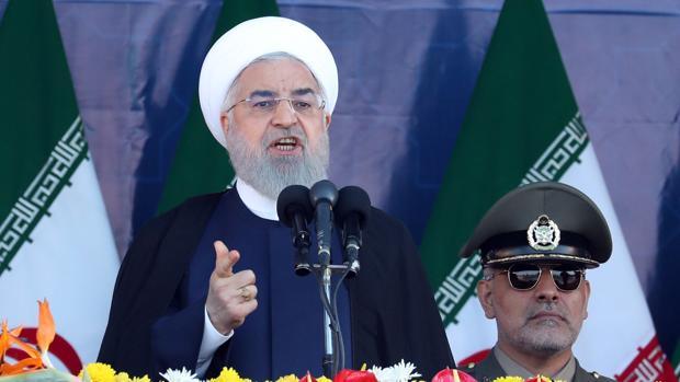 Rohani acusa a Estados Unidos de querer desestabilizar el país tras el atentado contra un desfile militar