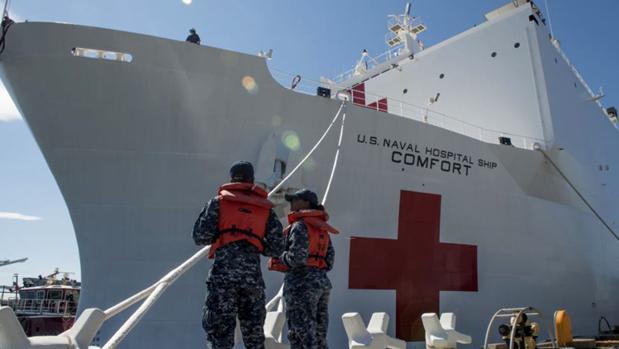 Geopolítica en el Caribe con barcos hospital