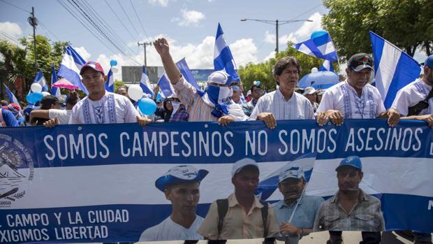 Muere un adolescente en la marcha contra Daniel Ortega