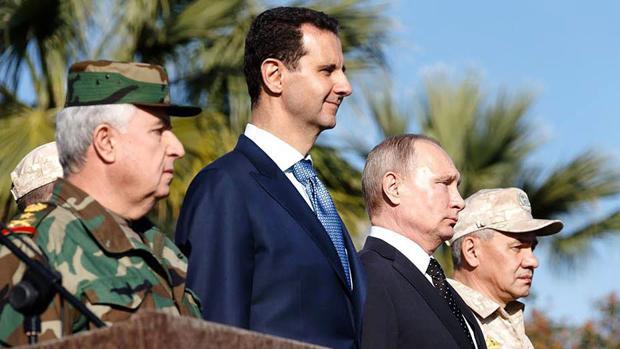 Mercenarios, instrumento de la guerra de Rusia en Siria