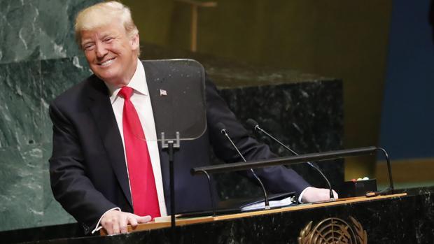 La ONU se rio de Trump cuando intentó presumir de su gestión