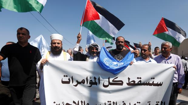 El presidente de EE.UU. defiende por primera vez una «solución de dos estados» para Israel y Palestina