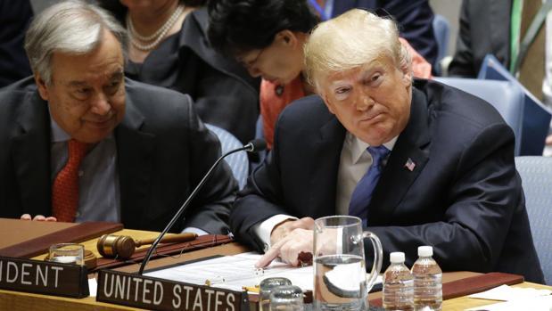 Trump acusa a China ante el Consejo de Seguridad de interferir en las elecciones legislativas