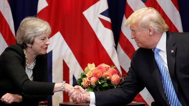May logra el respaldo de EE.UU. para culminar el Brexit