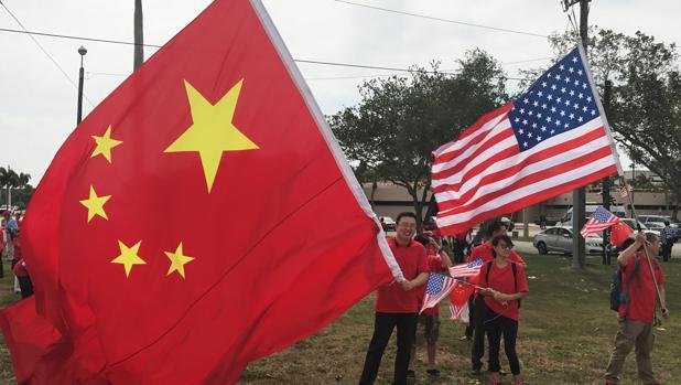 El comercio encona la rivalidad política y militar entre China y EE.UU.