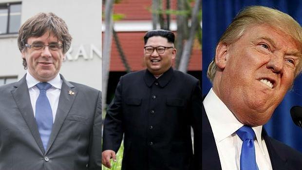 Donald Trump, Kim Jong-un y Carles Puigdemont, candidatos al Nobel de la Paz según las casas de apuestas