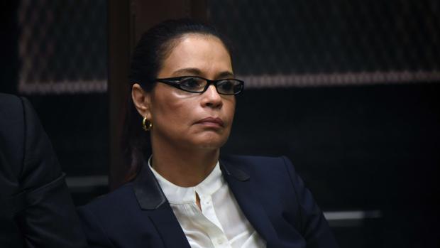 Prisión para la exvicepresidenta de Guatemala Roxana Baldetti por corrupción
