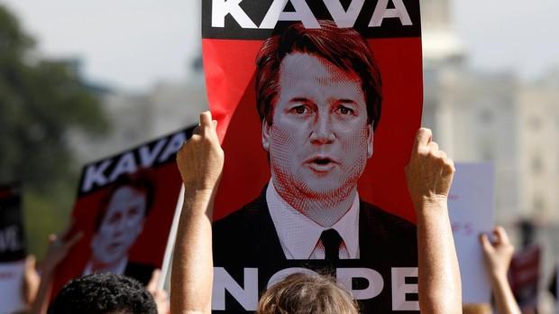 Protestas contra el juez Kavanaugh
