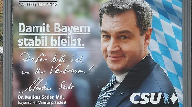 Las elecciones en Baviera anuncian un desastre para la gran coalición
