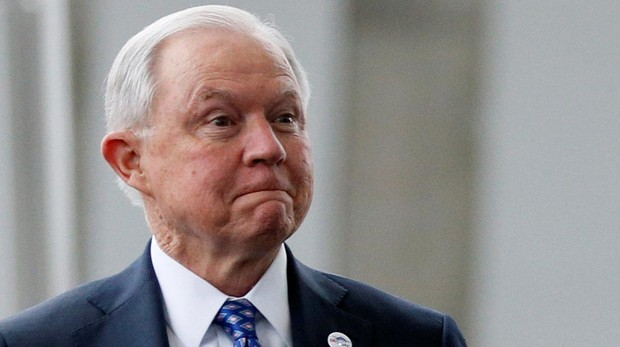 El fiscal general de Estados Unidos, Jeff Sessions