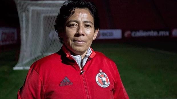 La promotora mexicana de fútbol femenino Marbella Ibarra
