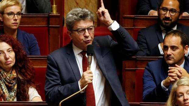 El líder de la extrema izquierda francesa se burla de una periodista por su acento del sur