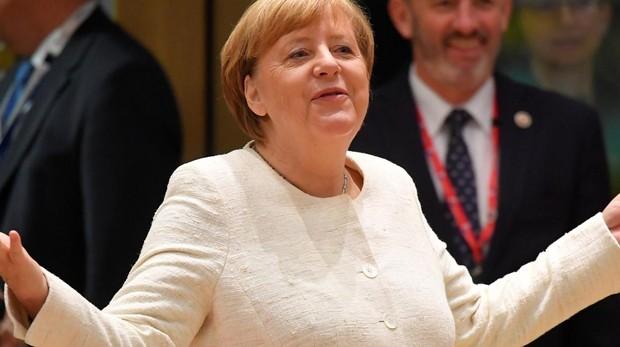 Merkel se va de cañas