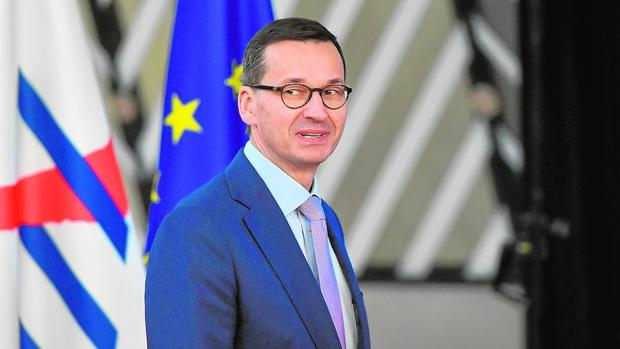 El primer ministro polaco, Mateus Morawiecki