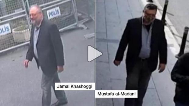 Un vídeo de vigilancia muestra a un agente saudí con la ropa de Khashoggi después de ser asesinado, según la CNN