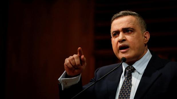El fiscal general venezolano, Tarek Saab