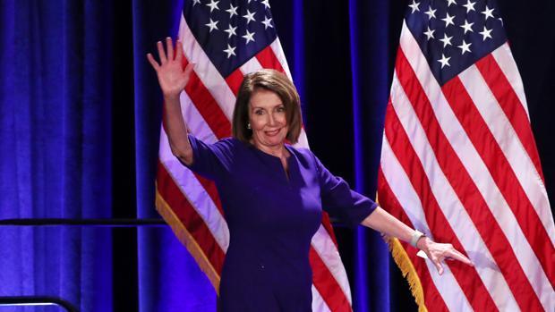 Nancy Pelosi, líder de la minoría de la Cámara de Representantes de Estados Unidos