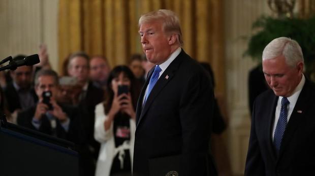 Trump avisa a los demócratas que no negociará nada si lo investigan