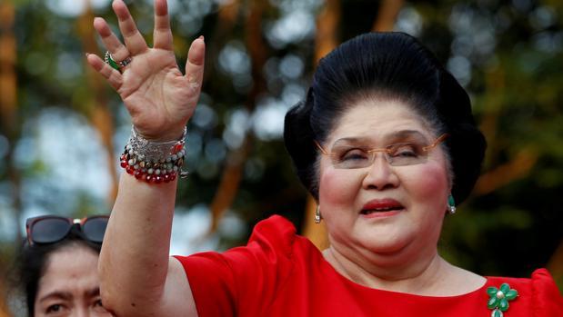 Imelda Marcos, viuda del dictador Ferdinand Marcos