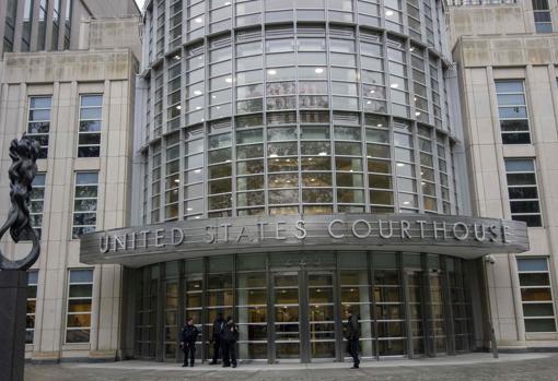 Fachada de los juzgados donde se celebra el juicio al Chapo Guzmán