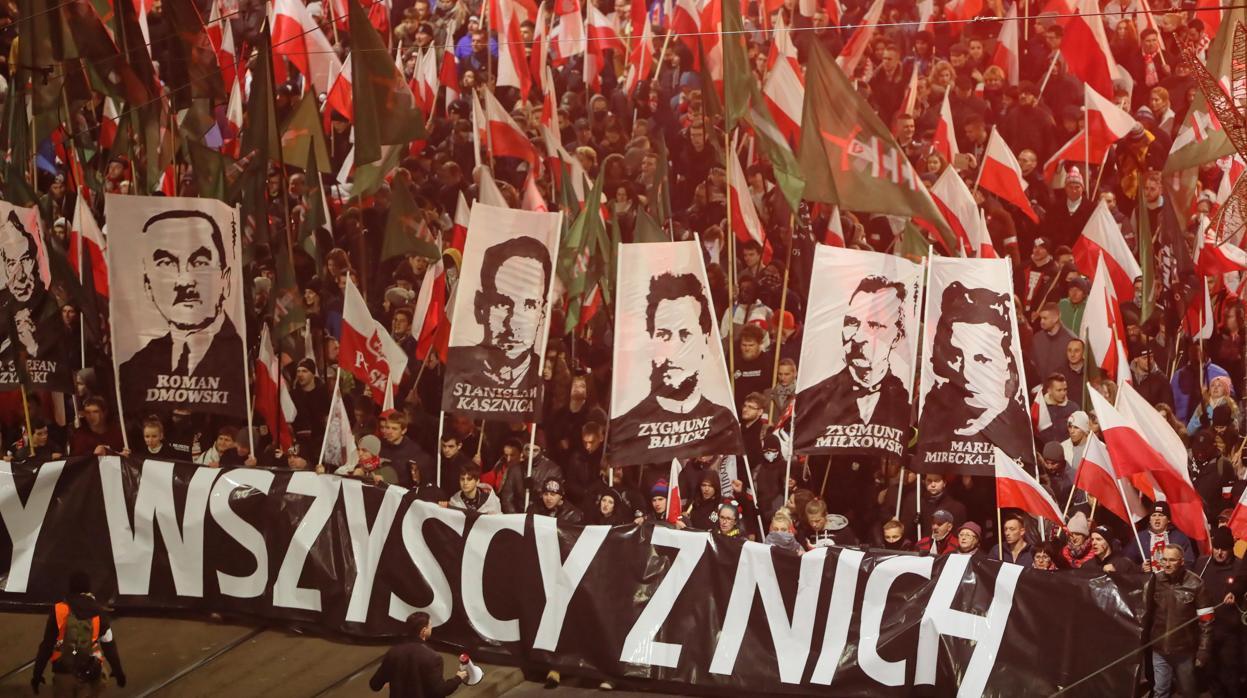 Tensión en Polonia durante la celebración de los cien años de independencia