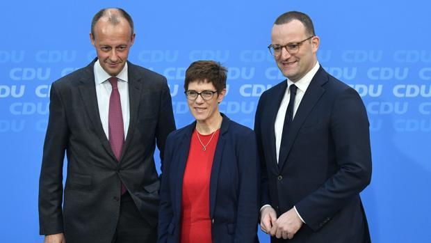 Los candidatos alemanes para el liderazgo del partido de la Unión Demócrata Cristiana