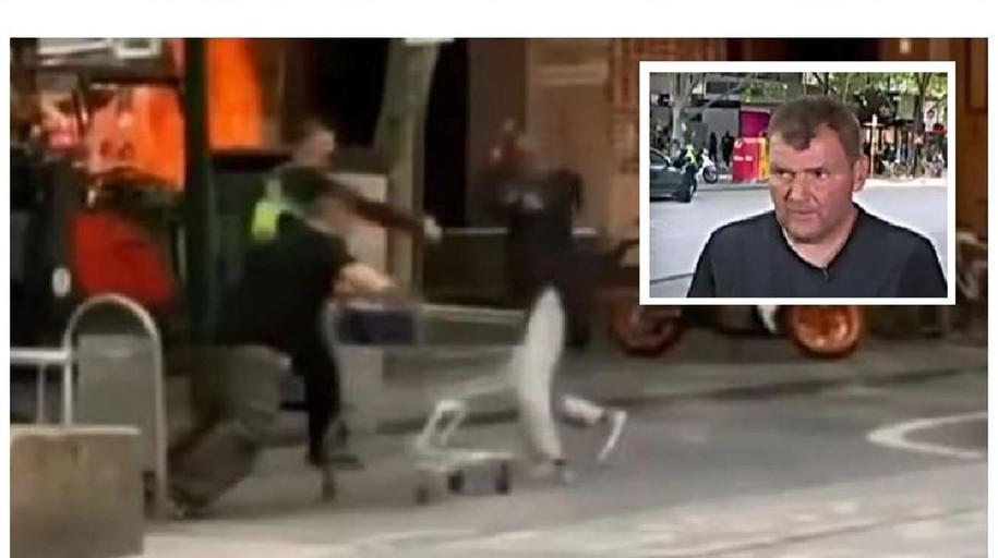 Australia se vuelca con el heroico «sin techo» que se enfrentó a un terrorista con un carrito de la compra