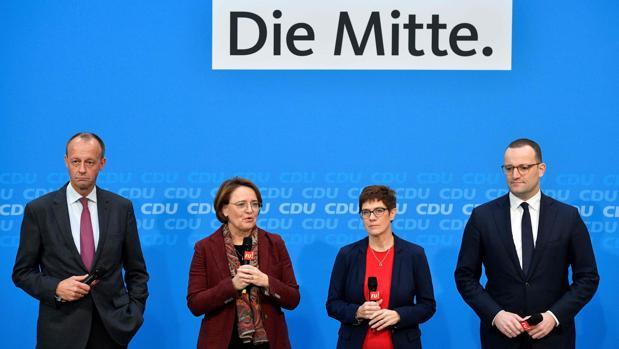 Los candidatos para suceder a Merkel al frente de la CDU