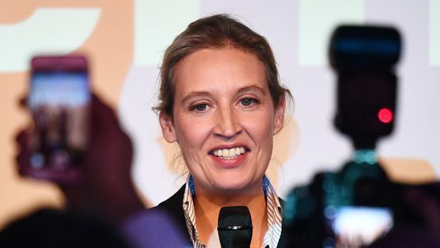 La copresidenta del partido antieuropeo AfD, Alice Weidel