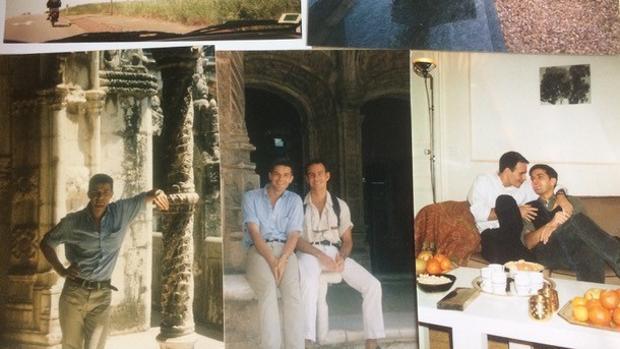 A la izquierda, el doctor Jean-Louis Frasca. En el centro y a la derecha, Jean-Louis Frasca y Jean-Jacques Baudouin-Gautier juntos