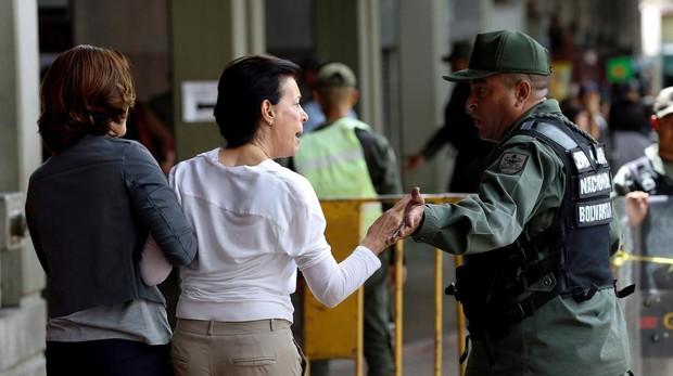 La madre del opositor Leopoldo López, en una imagen de 2016