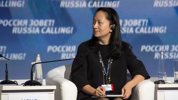Meng Wanzhou, hija del fundador de Huawei, en una imagen de 2014