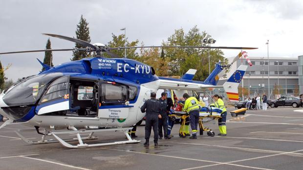 Mueren los cuatro ocupantes de un helicóptero sanitario que se desplomó en Portugal
