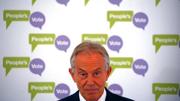 El exprimer ministro británico Tony Blair
