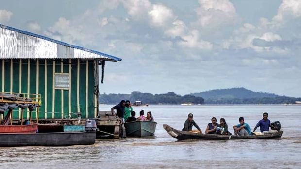 Frontera en el río Atabapo
