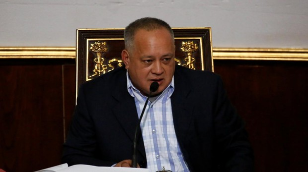 Diosdado Cabello, presidente de la ANC