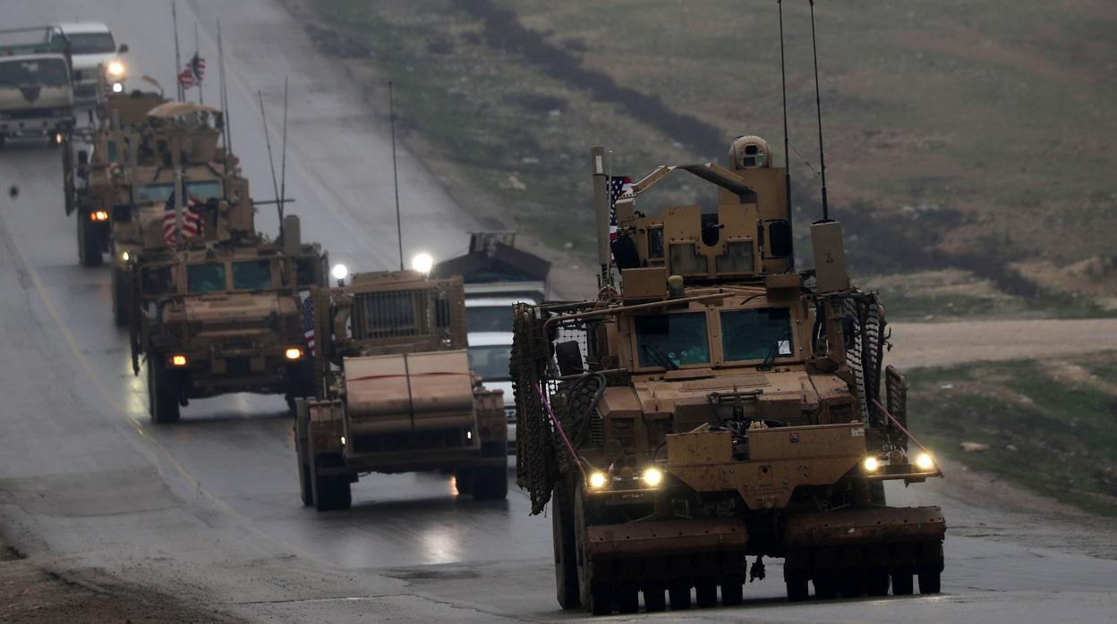 La coalición contra Daesh liderada por EE.UU. inicia su retirada de Siria