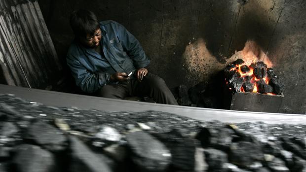 Imagen de archivo de una mina en China