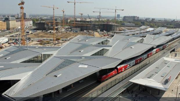 Imagen de la Estación Central de Viena