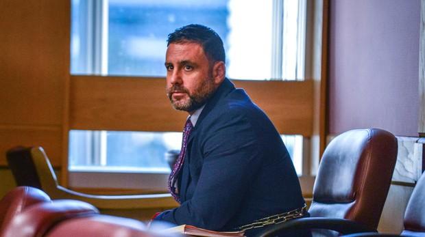 Pablo Ibar, durante una de las sesiones de este cuarto juicio
