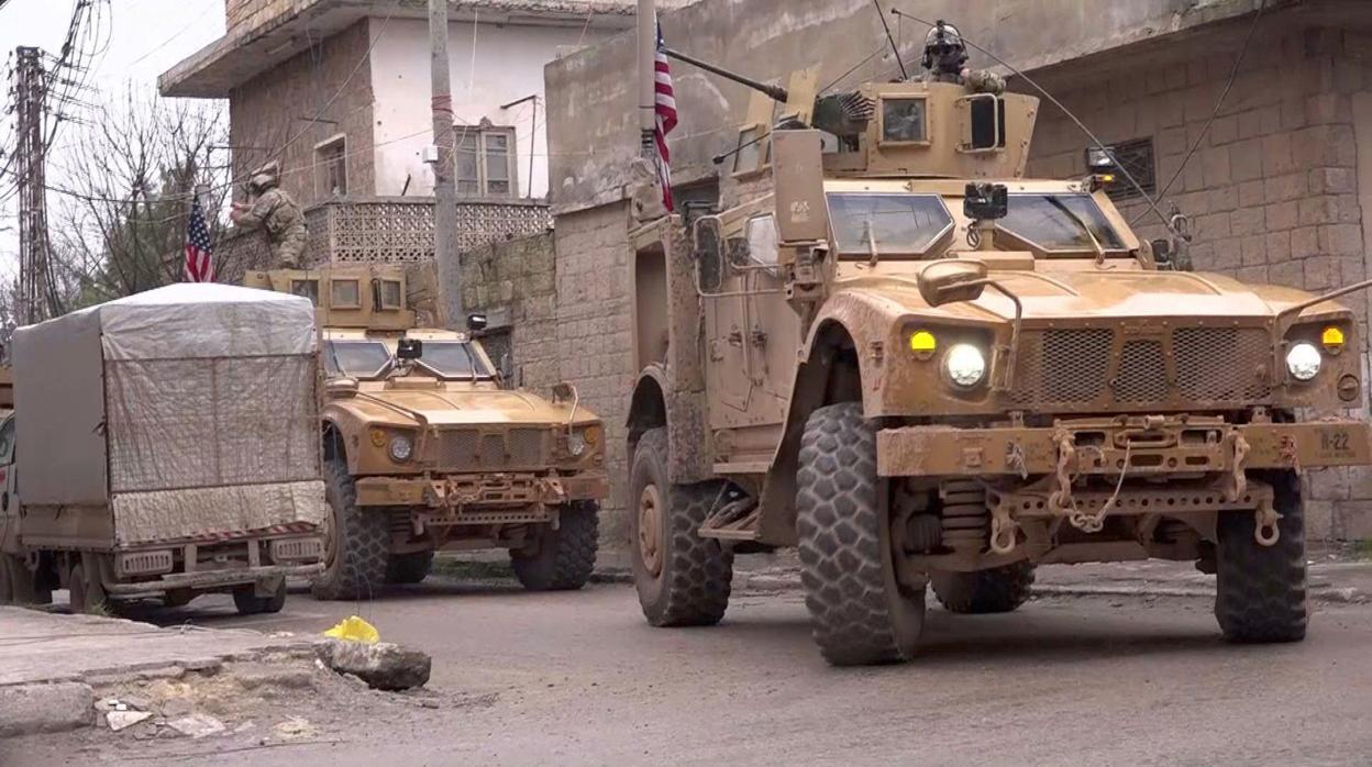 Daesh golpea a EE.UU. en Siria en la primera fase de su retirada
