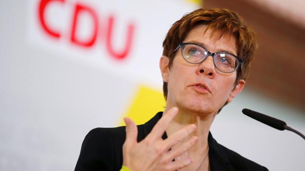 La líder de la CDU Annegret Kramp-Karrenbauen
