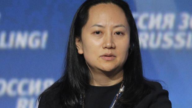 Meng Wanzhou, directora financiera de Huawei, mientras participa en el foro de inversión VTB Capital's Rusia Calling en Moscú