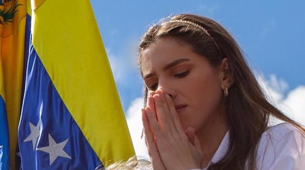 Fabiana Rosales, esposa de Juna Guaidó