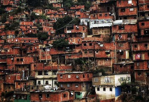 El barrio popular de Petare