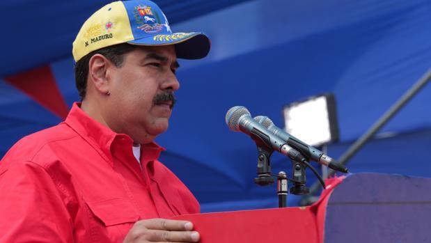 Nicolás Maduro, mientras participa en un acto de Gobierno